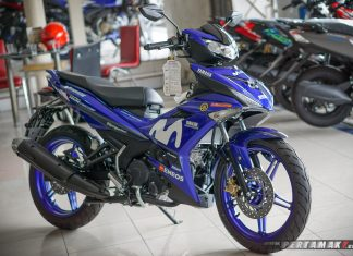 Kanan Samping Yamaha MX KING MotoGP Movistar 2019