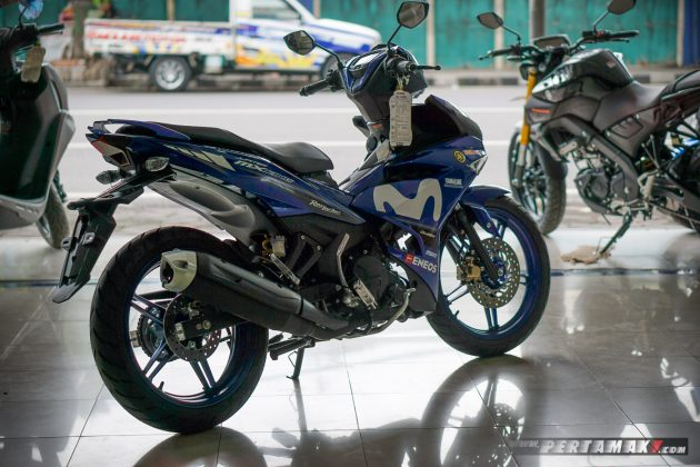 Kanan belakang Yamaha MX KING MotoGP Movistar 2019