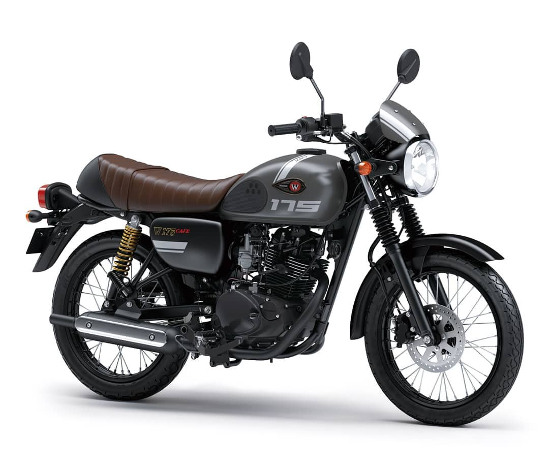 Kawasaki W175 Cafe Warna Grey