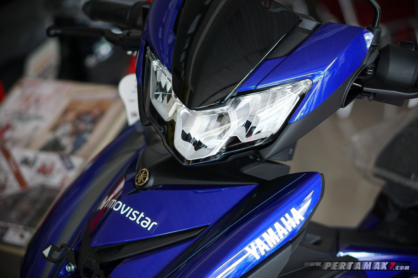 Lampu Yamaha MX KING MotoGP Movistar 2019