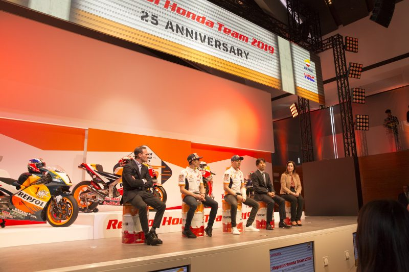 Press Conference Repsol Honda Team MotoGP 2019