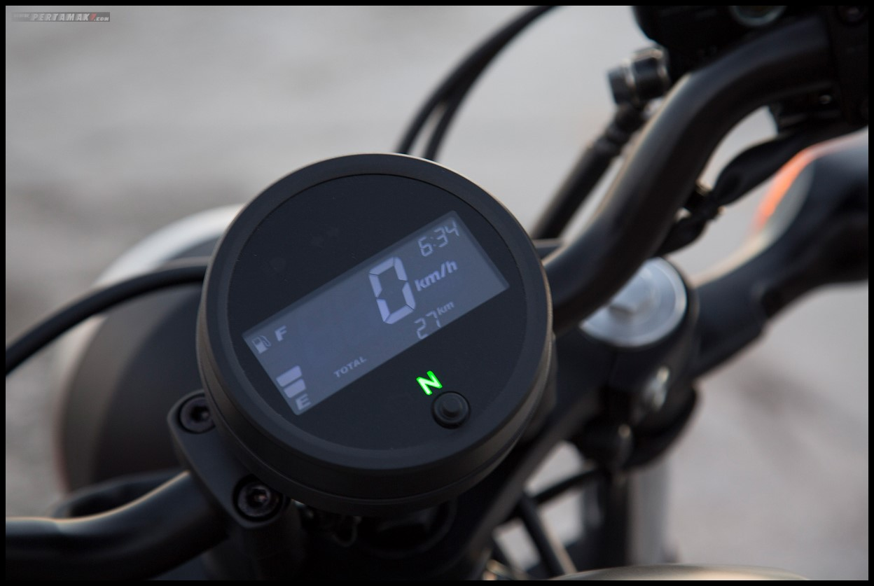 Speedometer Honda Rebel 500 CMX P7