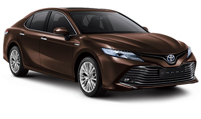Toyota All New Camry Hybrid Indonesia Warna Coklat Phantom Brown Metallic