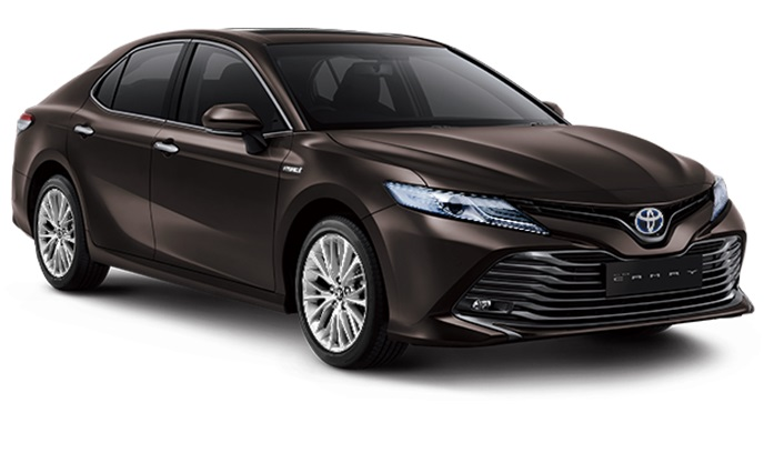 Toyota All New Camry Hybrid Indonesia Warna Graphite Me