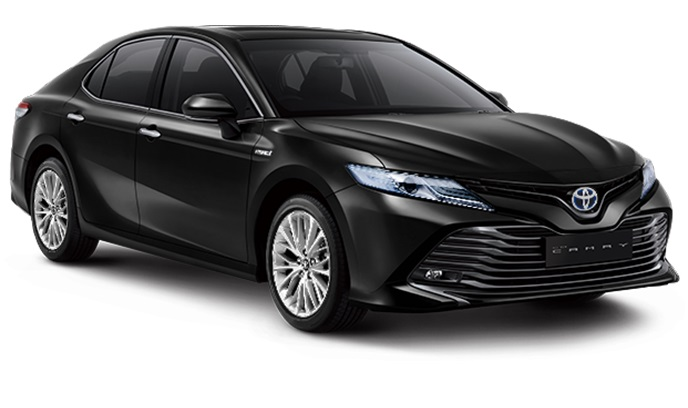 Toyota All New Camry Hybrid Indonesia Warna Hitam Attitude Black