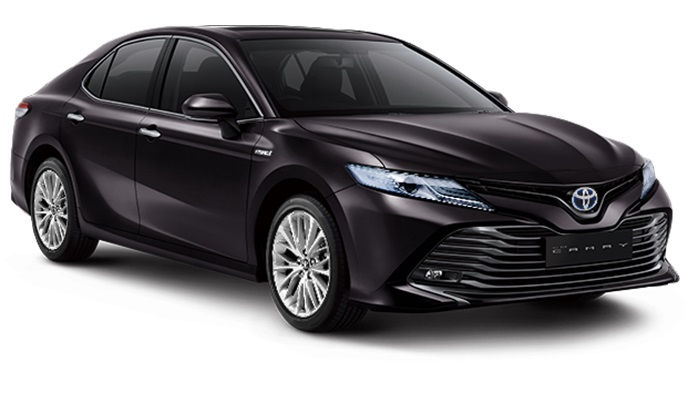 Toyota All New Camry Hybrid Indonesia Warna Hitam Burning Black