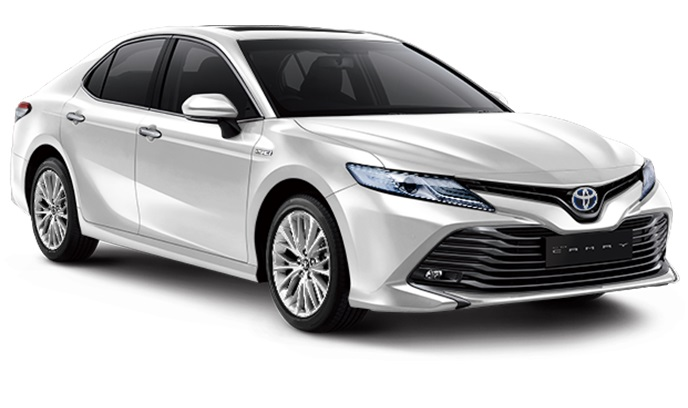 Toyota All New Camry Hybrid Indonesia Warna Putih Platinum White Pearl