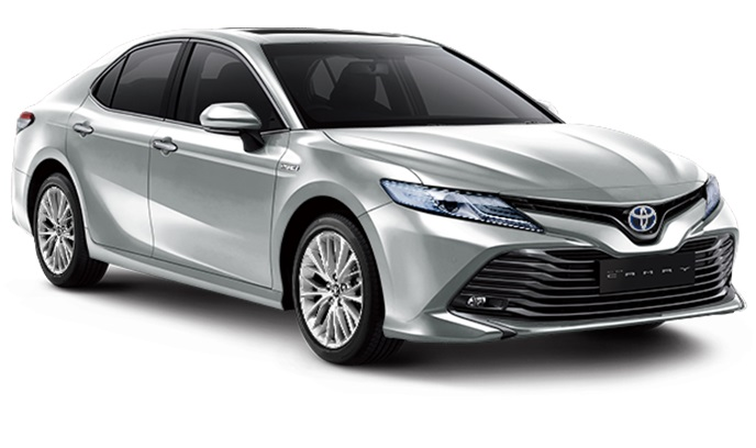 Toyota All New Camry Hybrid Indonesia Warna Silver Metallic