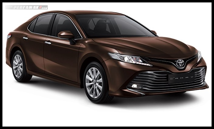 Toyota All new Camry Warna Coklat Phantom Brown Metallic