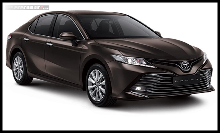 Toyota All new Camry Warna Graphite Me
