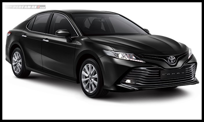 Toyota All new Camry Warna Hitam Attitude Black