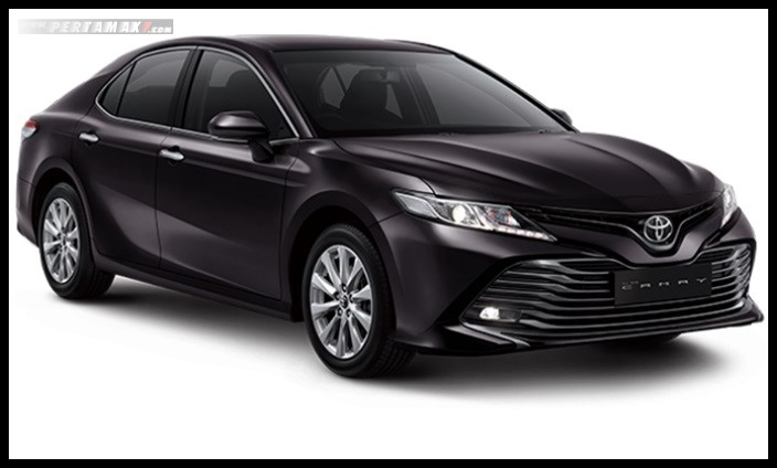 Toyota All new Camry Warna Hitam Burning Black
