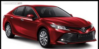 Toyota All new Camry Warna Merah Red Mica
