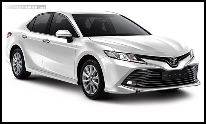 Toyota All new Camry Warna Putih Platinum White Pearl