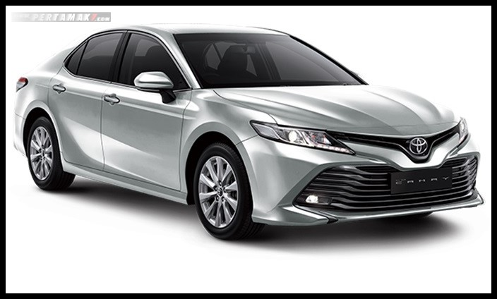 Toyota All new Camry Warna Silver Metallic