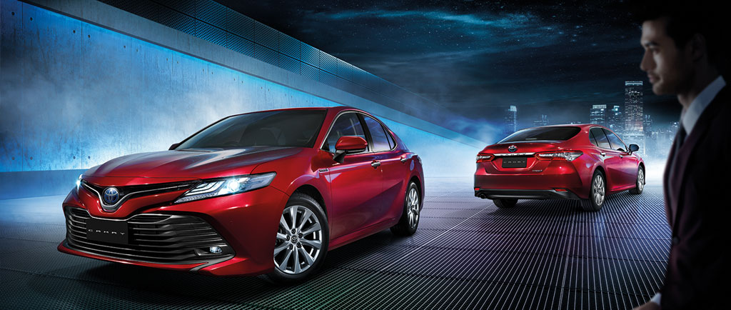Varian Toyota All new Camry Indonesia