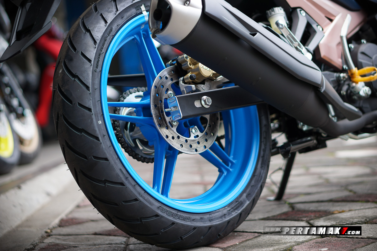Velg Belakang Cat Yamaha MX KING Doxou