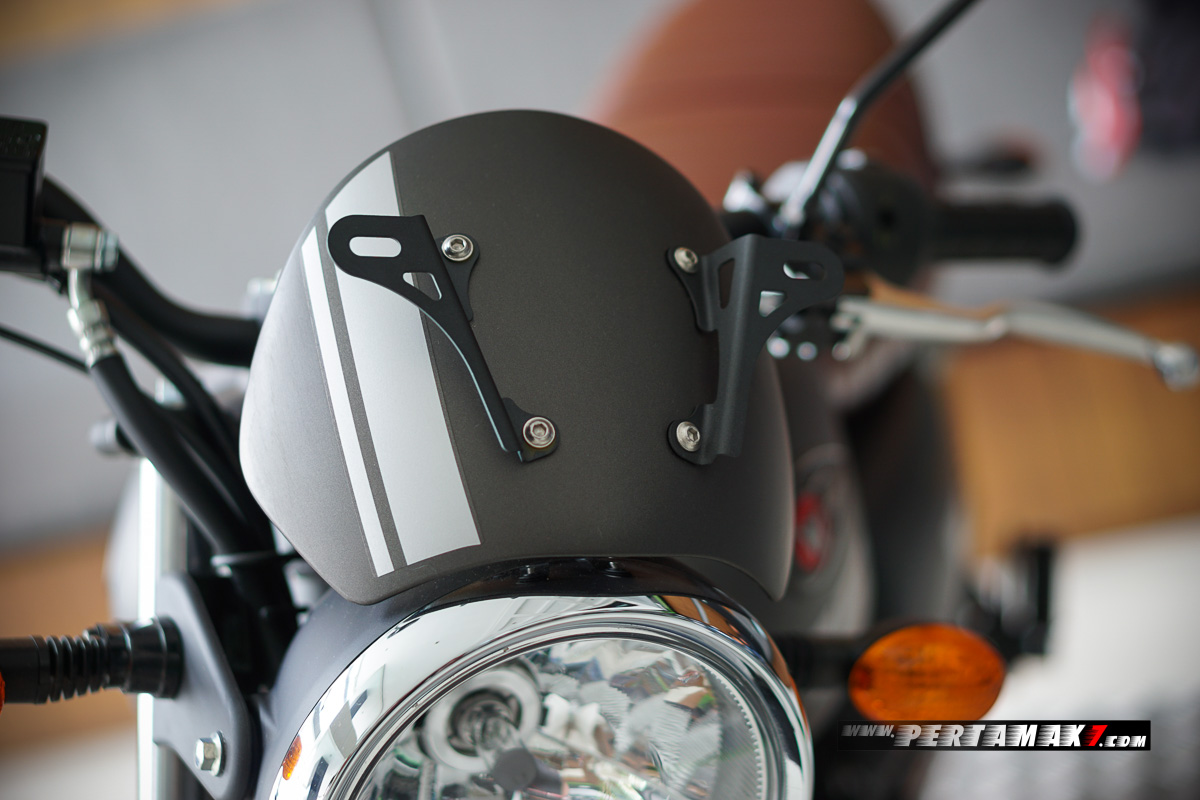 Visor grey Kawasaki W175 Cafe