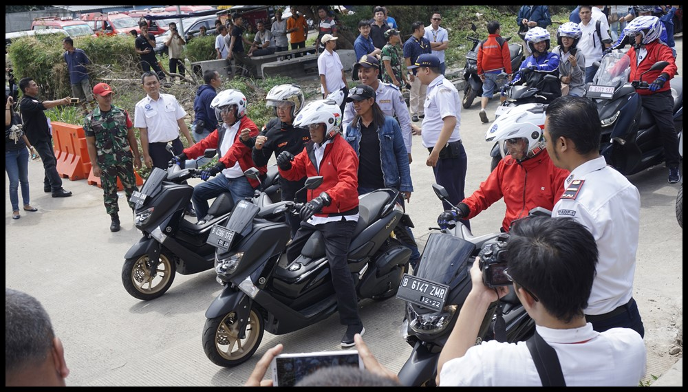 YIMM Dukung Kemenhub Sosialisasi Safety Riding 2019