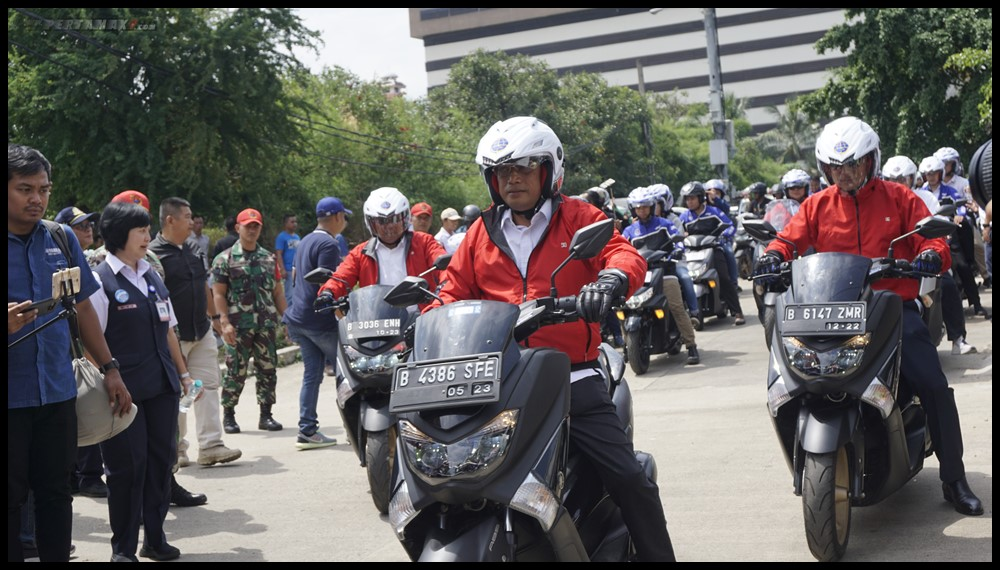 YIMM Dukung Kemenhub Sosialisasi Safety Riding