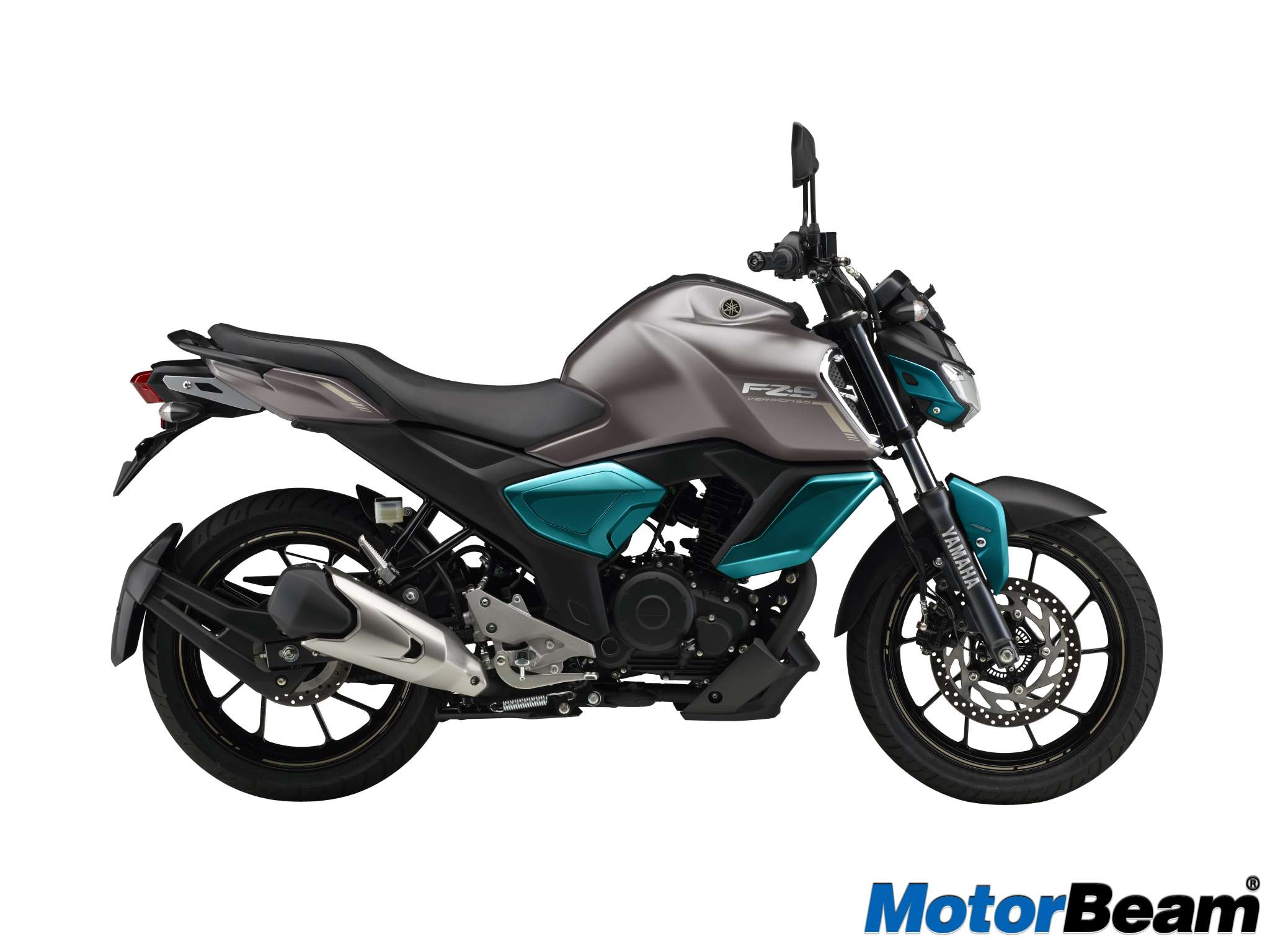 Yamaha FZ-S V3.0 Warna Grey Cyan Blue