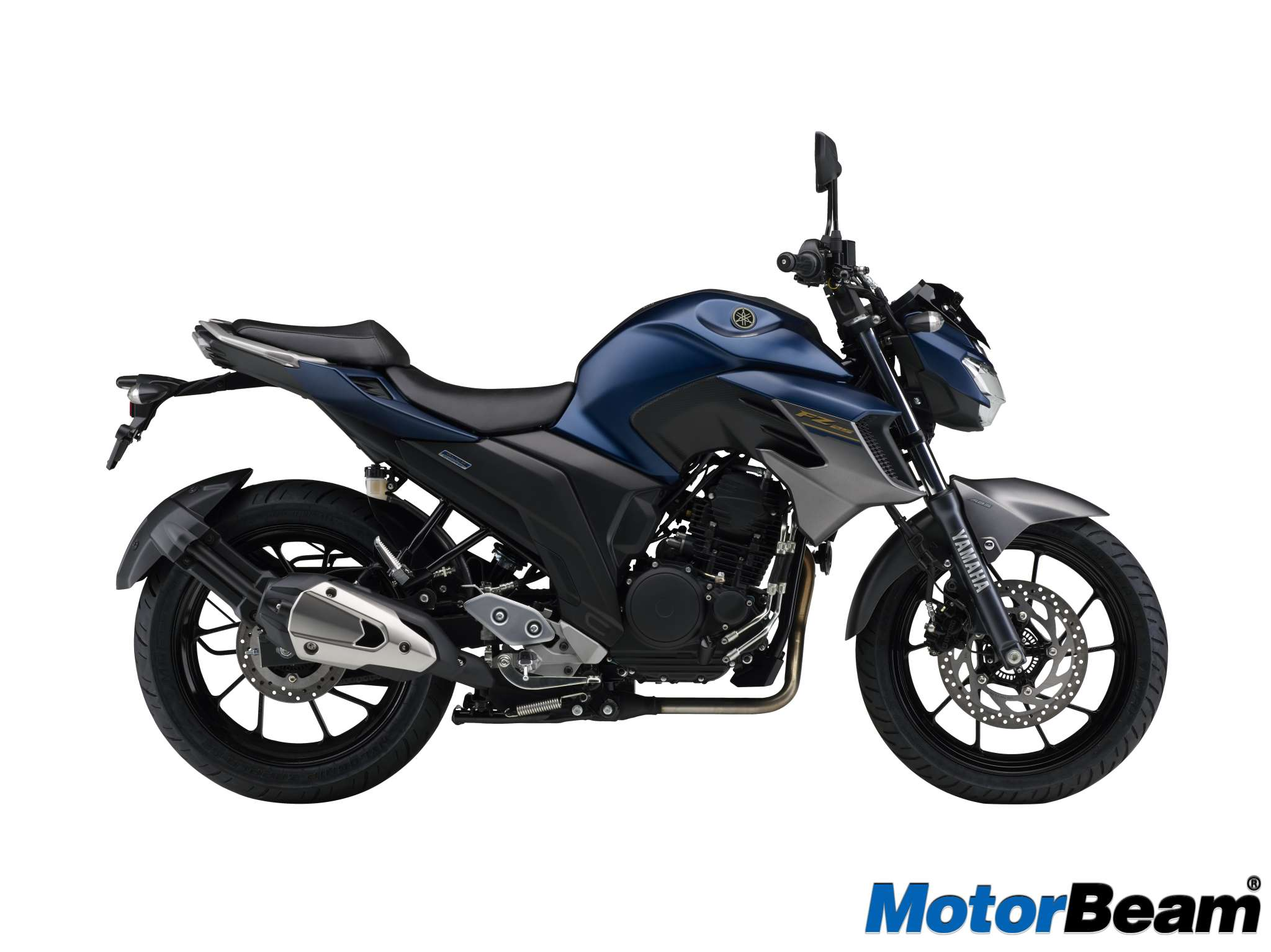 Yamaha FZ25 versi ABS Warna Dark Matt Blue