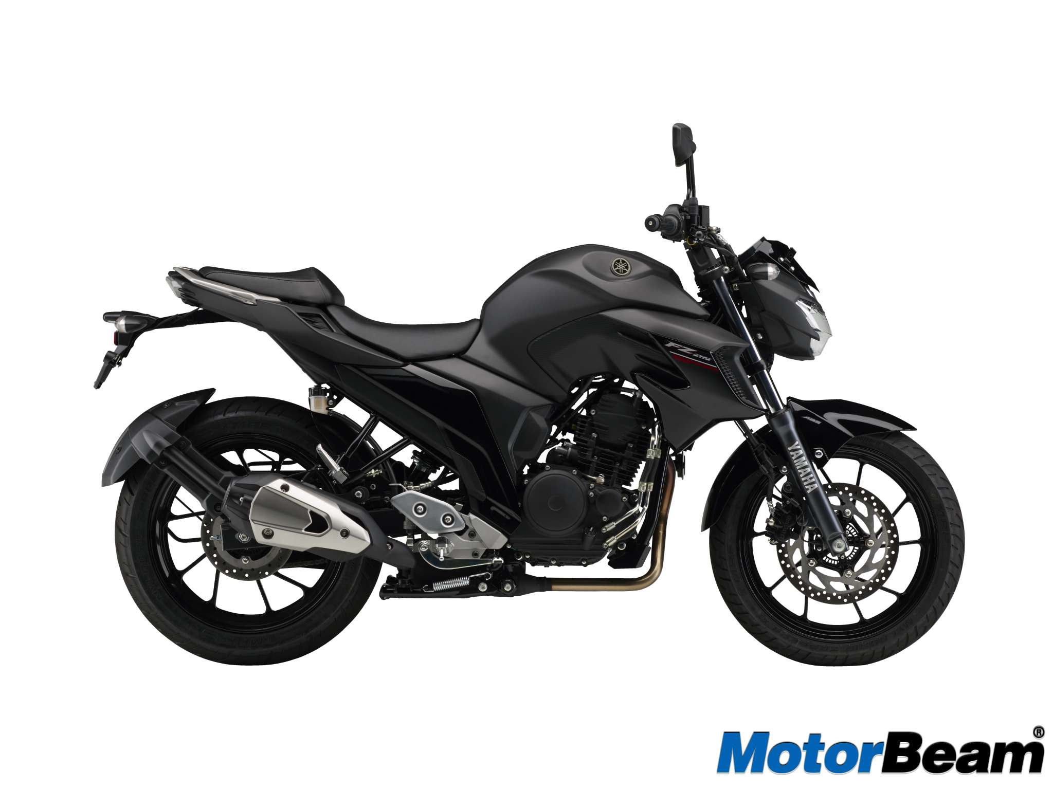 Yamaha FZ25 versi ABS Warna Matt Black