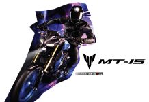 Yamaha MT15 Biru Thai
