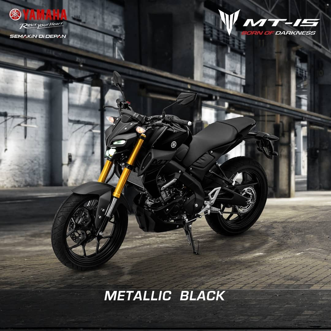 Yamaha MT15 Indonesia Warna Hitam Metalik