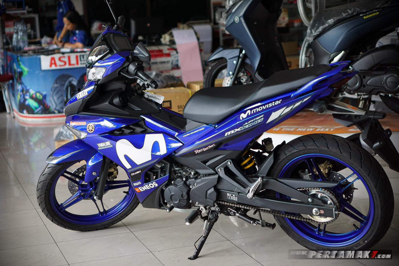 Yamaha MX KING MotoGP Movistar 2019 Kiri e