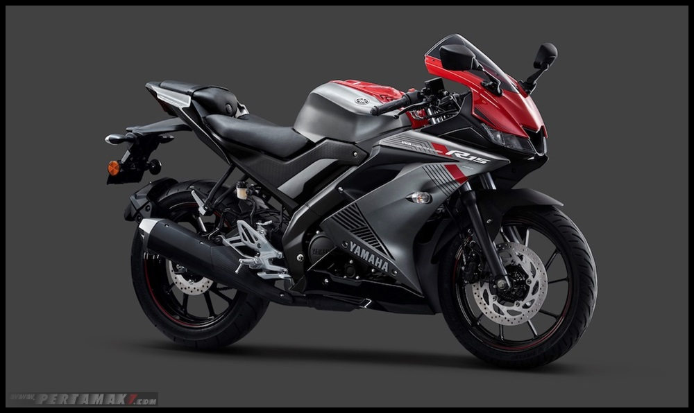 Yamaha R15 ABS Warna Grey Red