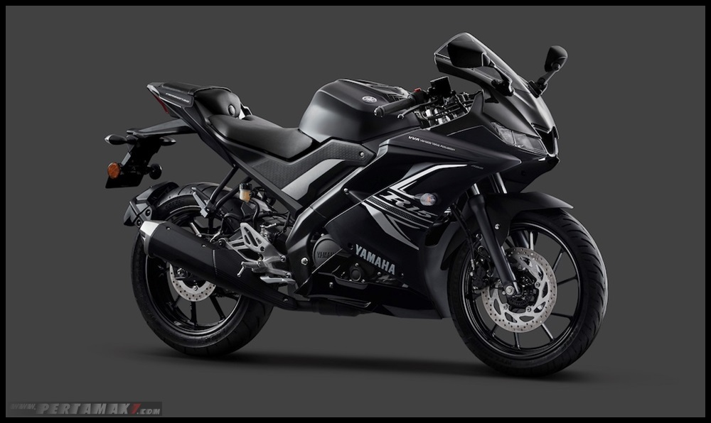 Yamaha R15 ABS Warna Hitam DARKNIGHT