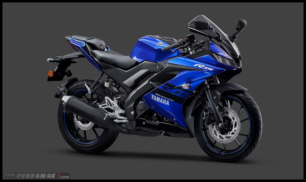 Yamaha R15 ABS warna Biru Racing Blue