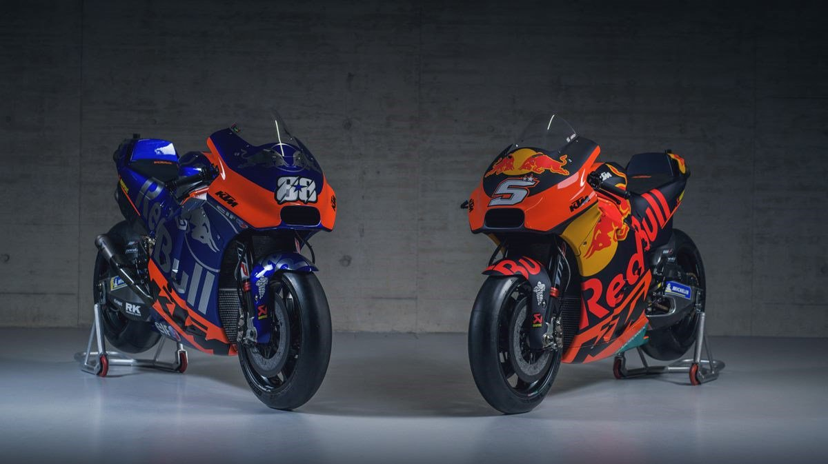 2019 Red Bull KTM Tech 3 and Red Bull KTM Factory Racing MotoGP