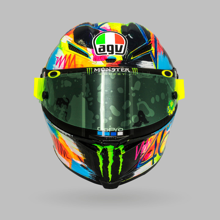 AGV Pista GP R Winter Test 2019 Rossi Depan