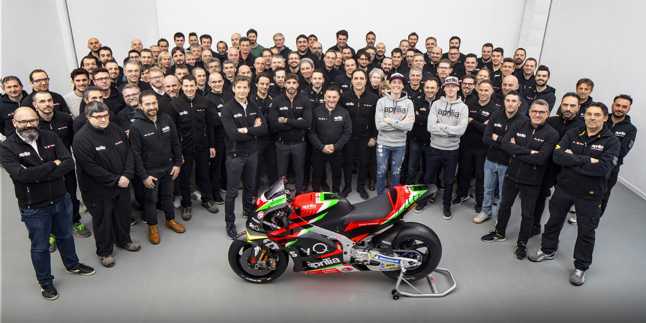 Aprilia Racing Team MotoGP 2019