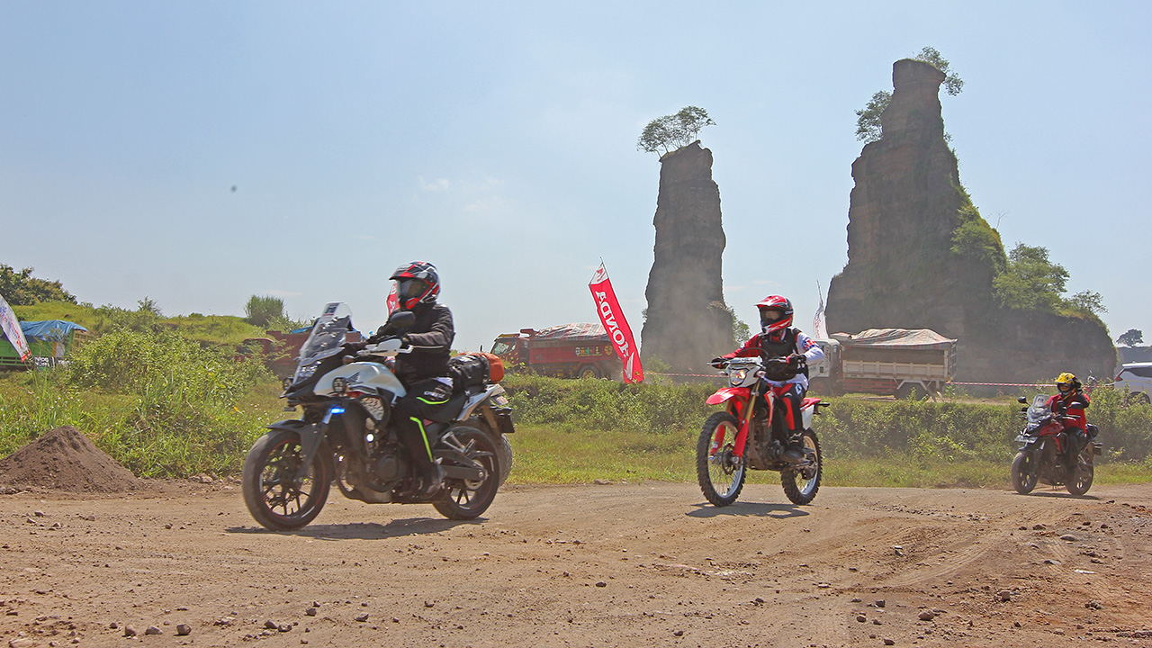 Brown Canyon Juara Honda Adventure Days 2019