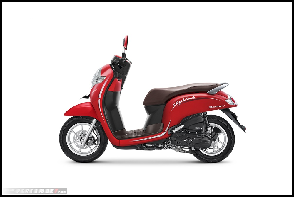 HOnda SCOOPY 2019_MATTE RED