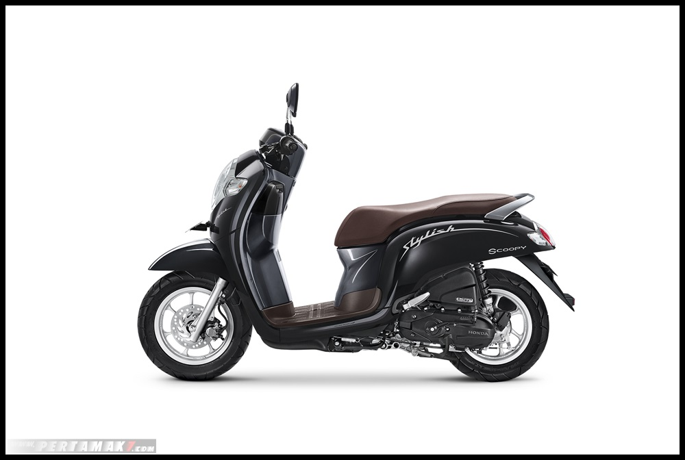 HOnda SCOOPY 2019_STYLISH BLACK