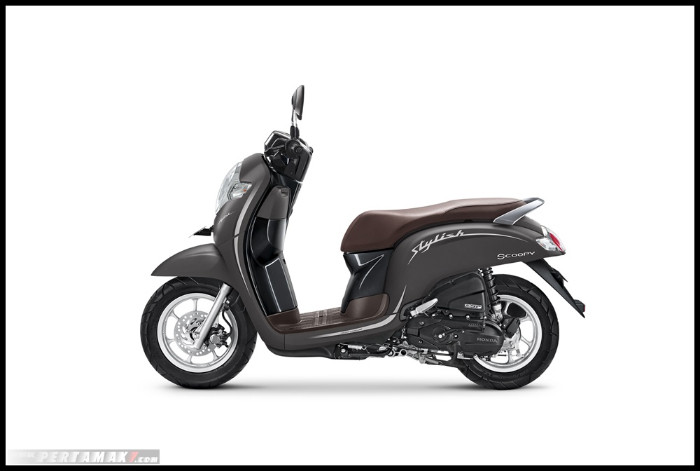 HOnda SCOOPY 2019_STYLISH MATTE BROWN