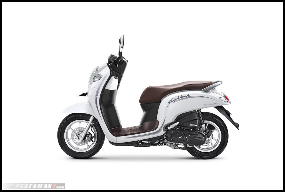 HOnda SCOOPY 2019_STYLISH WHITE