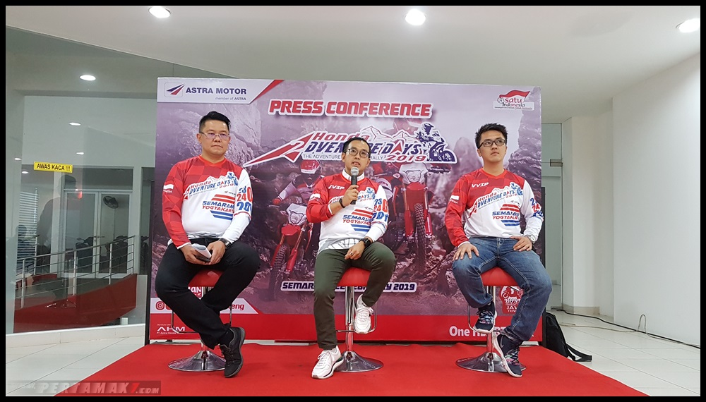 Press Conference Honda Adventure Days 2019