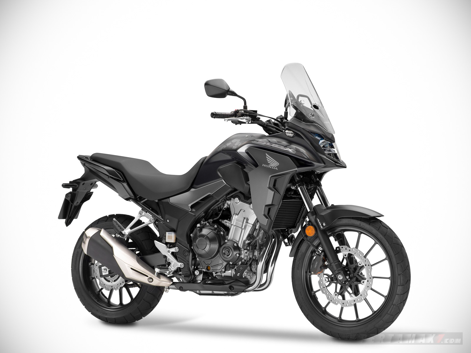 Honda CB500X 2019 Mat Axis Gray Metallic Warna Grey