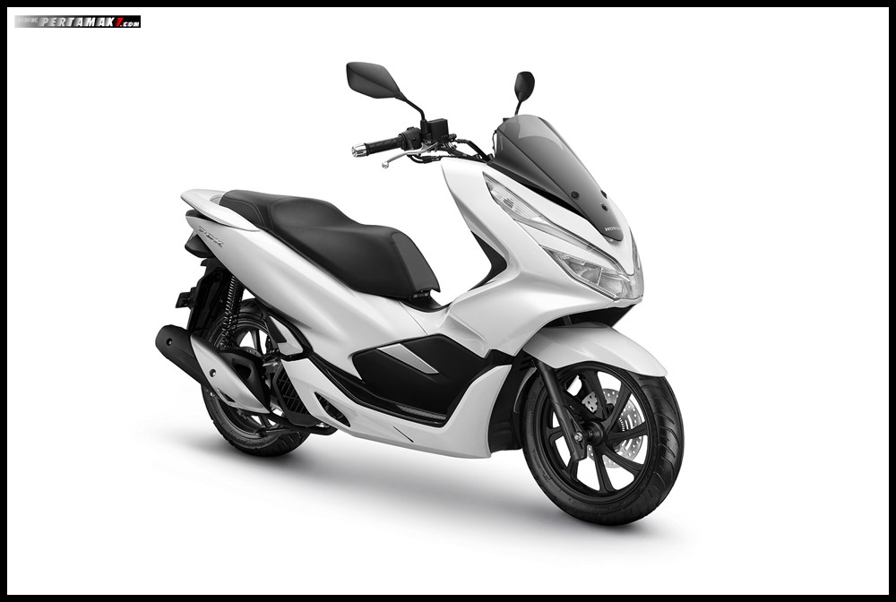 Honda PCX 2019 Warna Putih Wonderful White