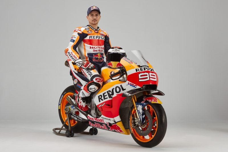 Jorge Lorenzo On Honda RC213V 2019 MotoGP