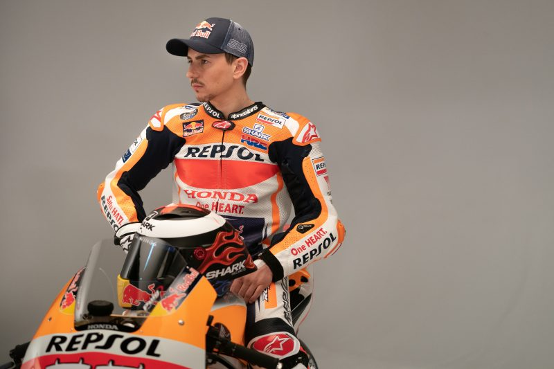 Jorge Lorenzo On Honda RC213V 2019