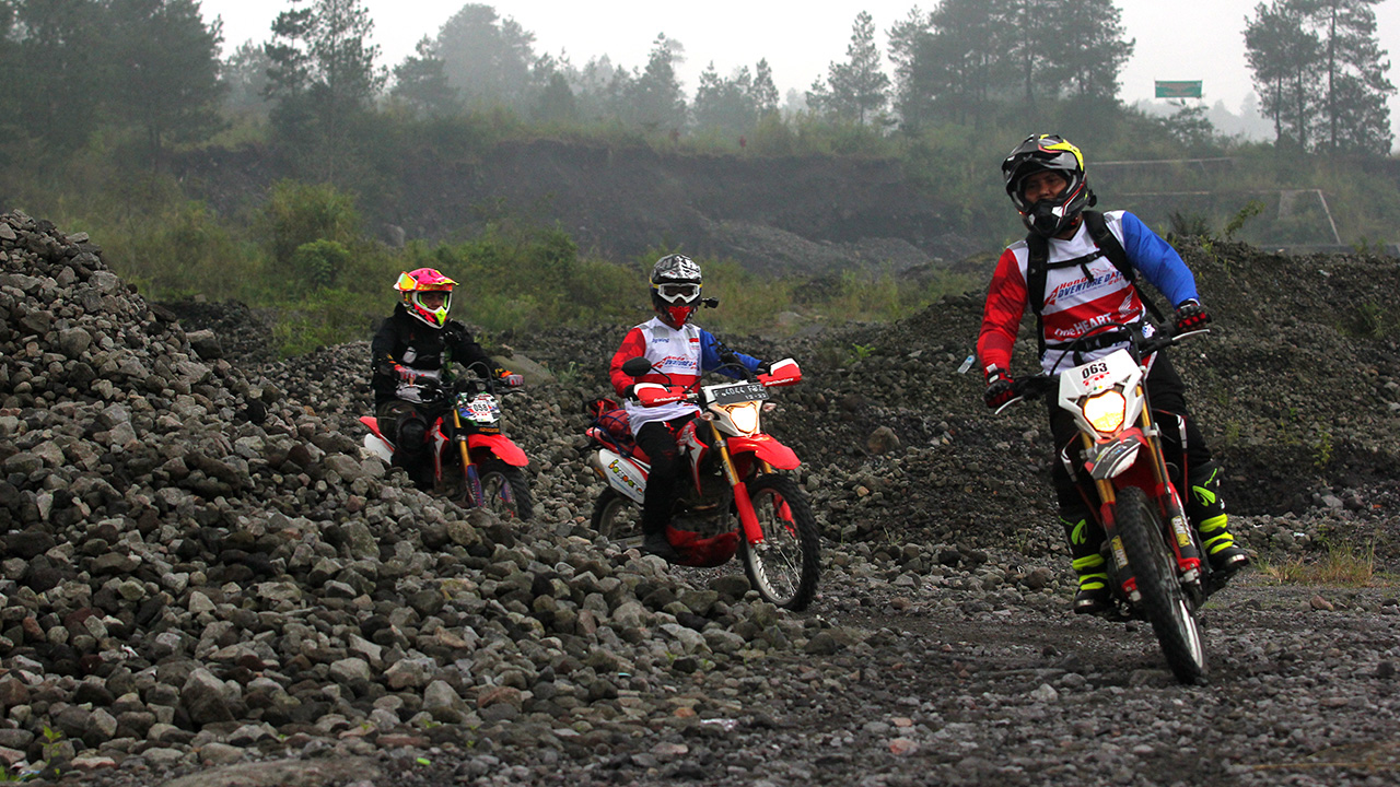Juara Honda Adventure Days 2019