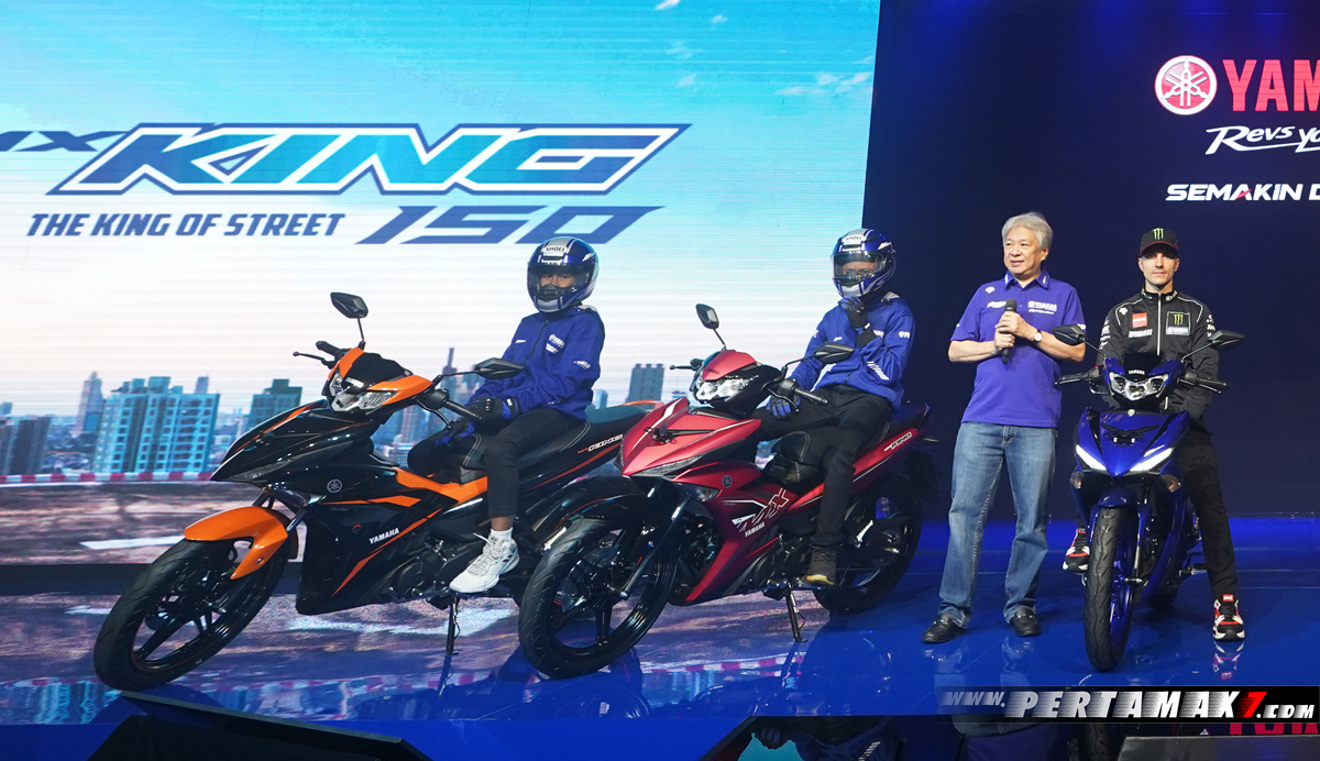 Launching Yamaha New MX King Indonesia