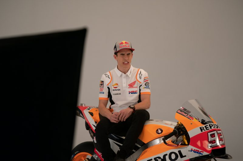 Marc Marquez On 2019 RC213V