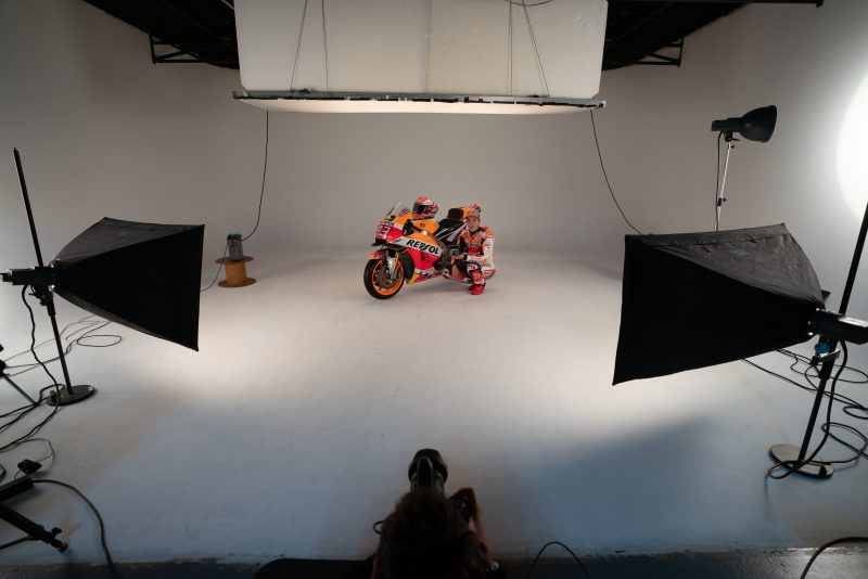 Marc Marquez Photoshoot MotoGP 2019 Rc213V